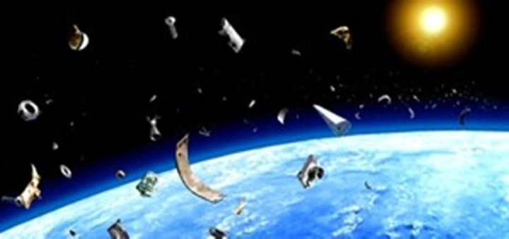 imagen falsa de basura espacial