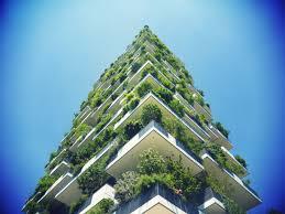 Rascacielos verde