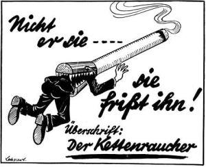 Hitler, los nazis y el tabaco.