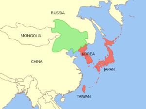 La Manchuria japonesa