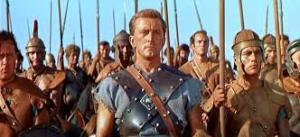 El gladiador Spartacus (Kirk Douglas)