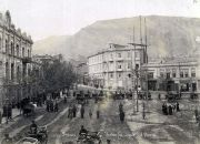 Escena del robo en la Plaza Yerevan