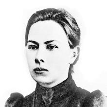 """Nadezhda """"Nadia"""" Krupskaya."""