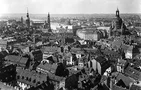Dresden antes de la guerra.