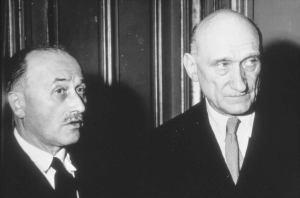 Jean Monnet y Robert Schuman