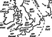 Primer mapa del tiempo Galton