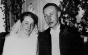 Lina y Reinhard Heydrich en su boda