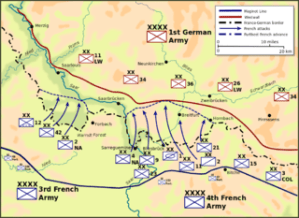 Ofensiva del Sarre