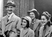 Otto, Ana, Edith y Margot Frank