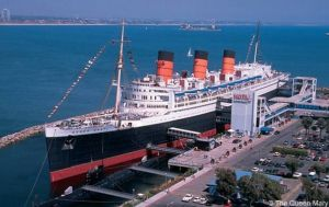 El Queen Mary en la actuaidad, en Long Beach, california