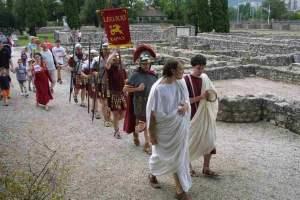 Festival de ciudadanos de Nova Roma en Pannonia