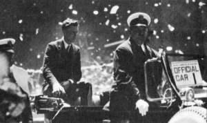 Charles Lindbergh desfile New York