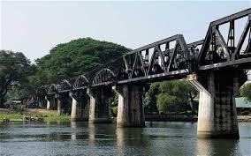 El verdadero puente sobre el Río Kwai.