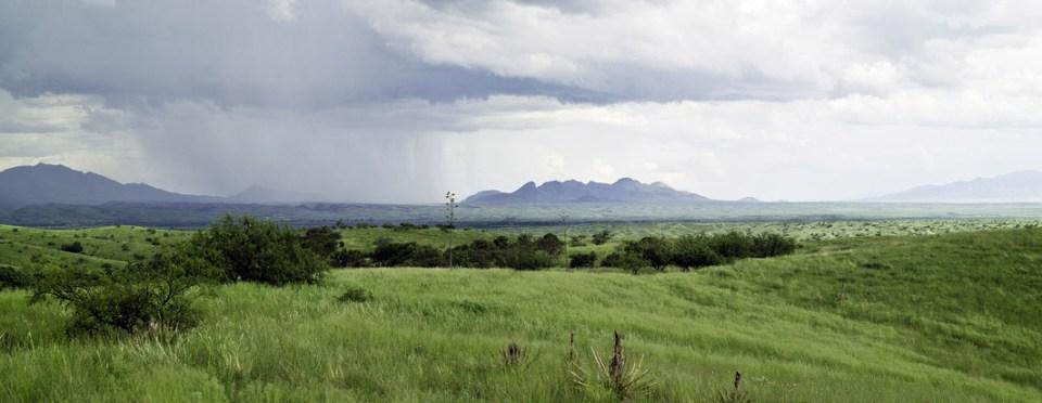 Mustang Mountains during monsoon
