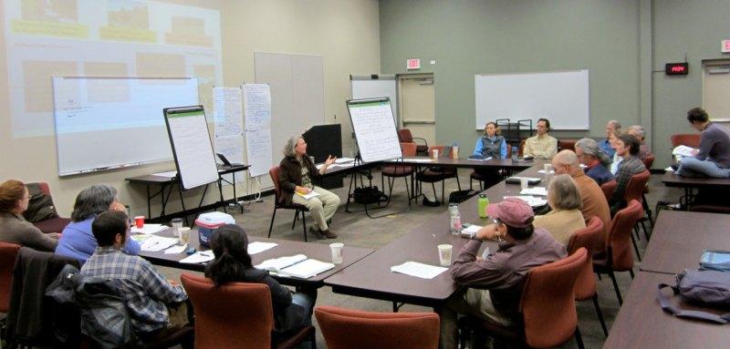 Scenario planning session