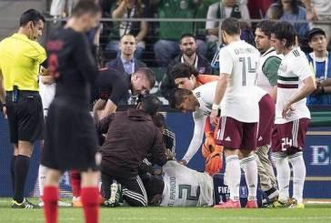 Un partido lleno de lesiones para la selección mexicana