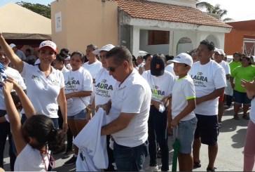 Morenistas se suman a la campaña de Laura Fernández en Puerto Morelos