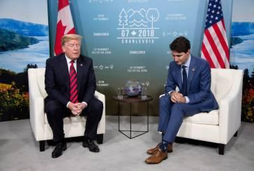 Crisis diplomática, el G7 contra Trump