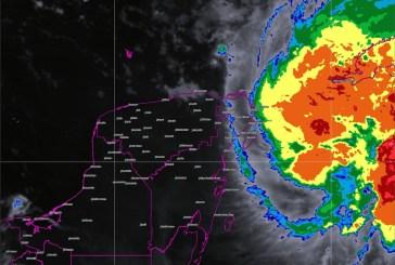 Michael ocasionará tormentas, posibles granizadas y vientos fuertes en zonas de la Península de Yucatán