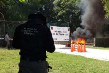 Incinera FGR narcóticos en Chetumal, Quintana Roo