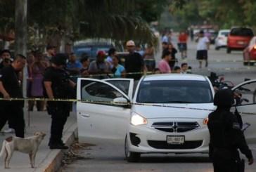 Una persona fue ejecutada esta mañana en la SM 229 cuando llevó a su hijo al colegio