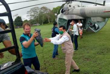 La Secretaría de Marina- Armada de México brinda apoyo a la población civil en Quintana Roo Y Campeche