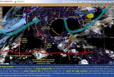 Pronóstico Meteorológico General  del Servicio Meteorológico Nacional