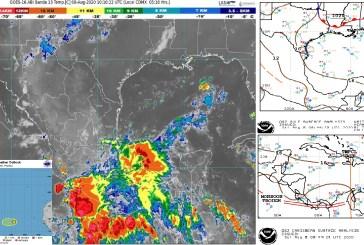 Pronóstico meteorológico del 8 agosto 2020