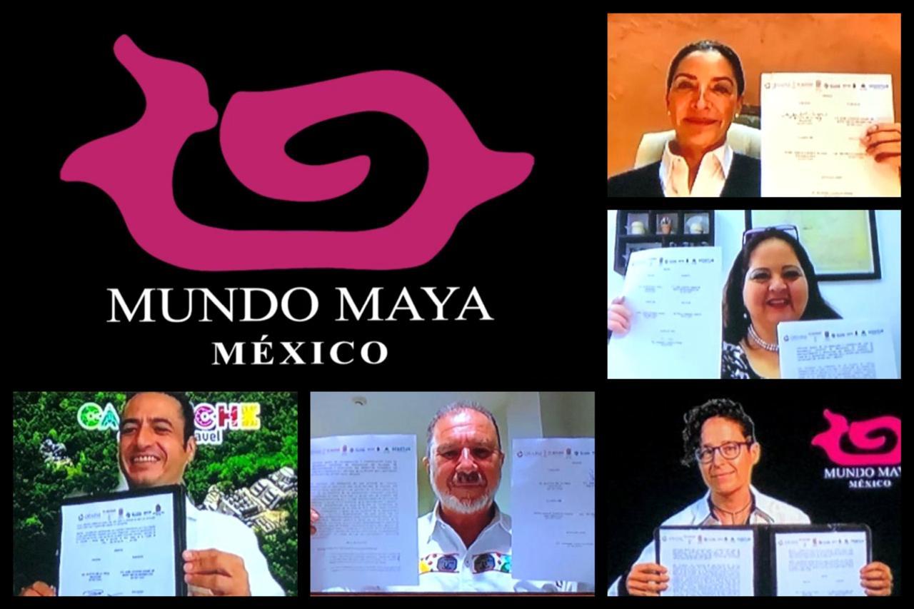 Firman alianza los cinco estados del Mundo Maya