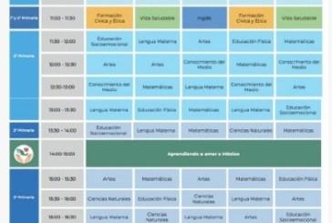 Presenta SEP horarios de clases por televisión