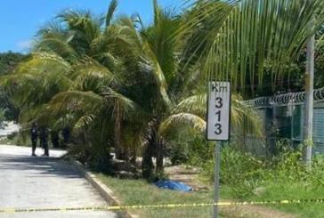 Ejecutan a una persona en la carretera Playa del Carmen-Puerto Morelos