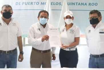 Anuncia Laura Fernández programa emergente de servicios públicos en Puerto Morelos