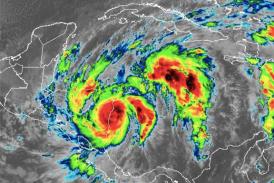 Eta tocó tierra en Nicaragua convertido en huracán categoría 4