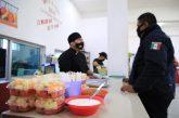 Gobierno de Solidaridad dignifica labor de policías con alimentación gratuita