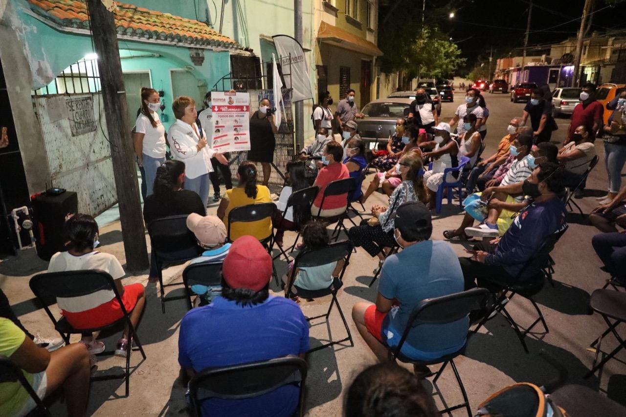 Persistiremos en la regularización de tenencia de la tierra en la Colosio: Laura Beristain