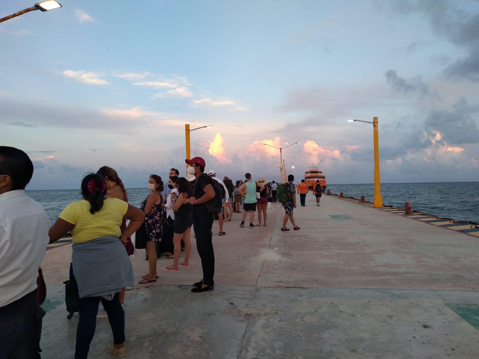 Siguen las quejas contra las navieras del crucero Playa del Carmen-Cozumel