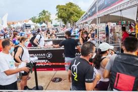 Todo listo para el Ironman 70.3 de Cozumel