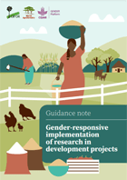 Implementation of gender responsive research in development projects