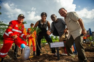 <p>The Minister of Tourism and Environment of the Republic of Congo, H.E. Ms. Arlette Soudan-Nonaults, and her entourage conducting a working visit with the Ministry of Environment and Forestry of Indonesia, in Kubu Raya, Pontianak, West Kalimantan.</p>
