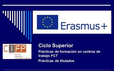 Convocatoria Erasmus +