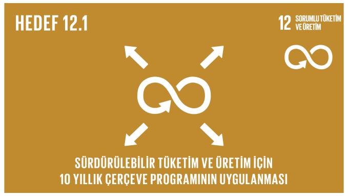 Sürdürülebilir tüketim ve üretim için 10 yıllık çerçeve programının uygulanması