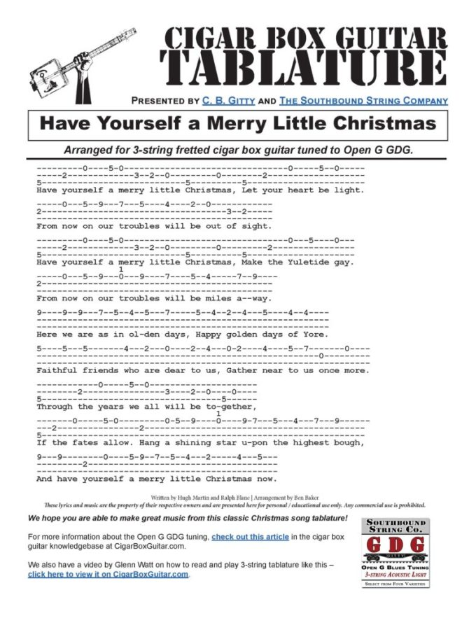 Have Yourself A Merry Little Christmas Ukulele Chords