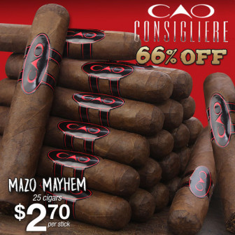 CAO CONSIGLIERE 66% OFF…special opportunity buy