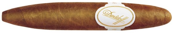 Davidoff Perfecto cigar shape example