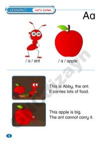 Abaküsment Mental İngilizce Level 1 - Sayfa 5