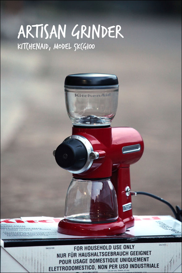 kitchenaid artisan burr coffee grinder 5kcg100 n the slow mo turtle. Black Bedroom Furniture Sets. Home Design Ideas