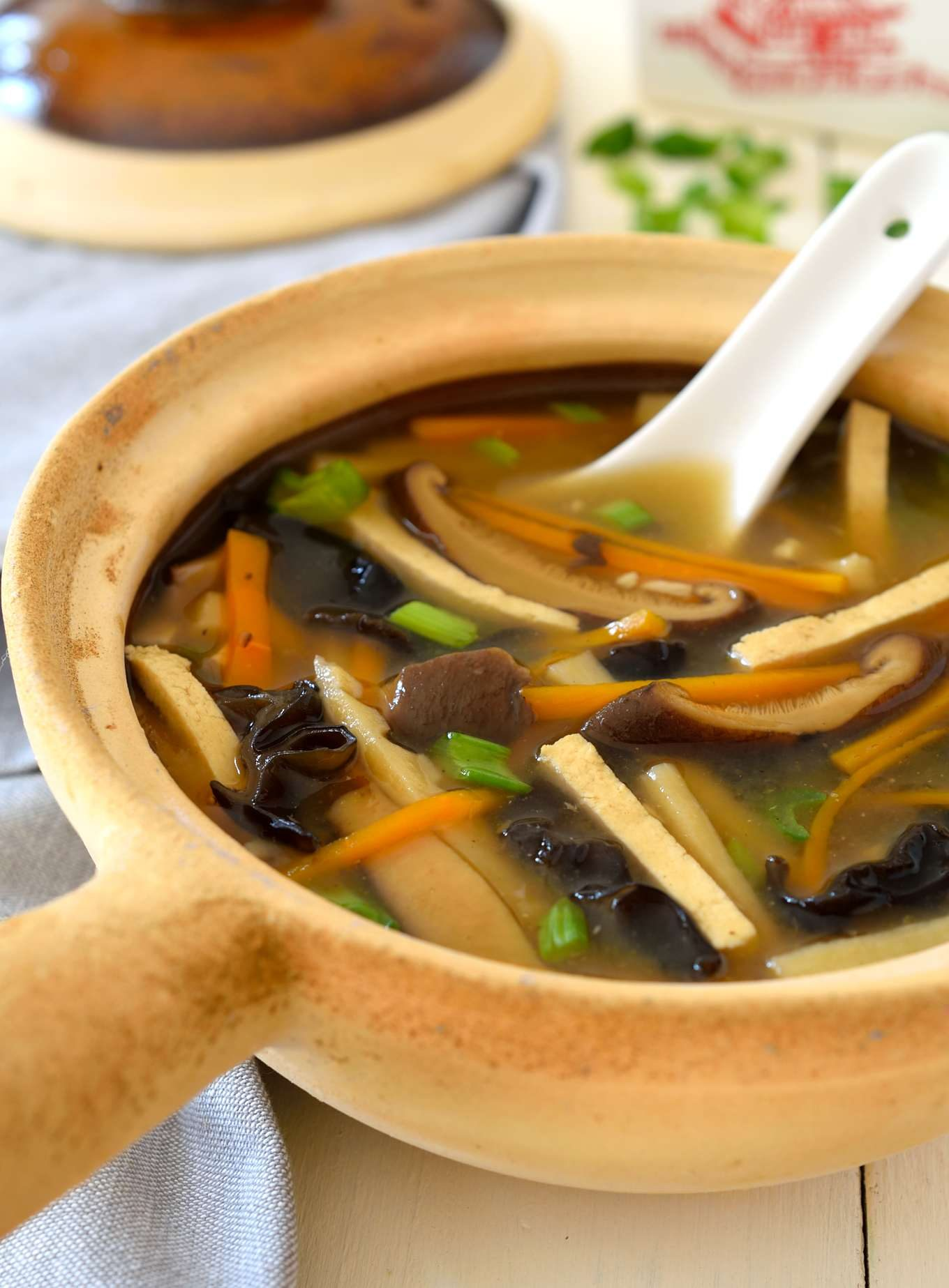 Vegan hot and sour soup is just as tasty as takeout and guaranteed to be totally plant-based. Great for a chilly fall or winter evening, this soup is ready in only 40 minutes.