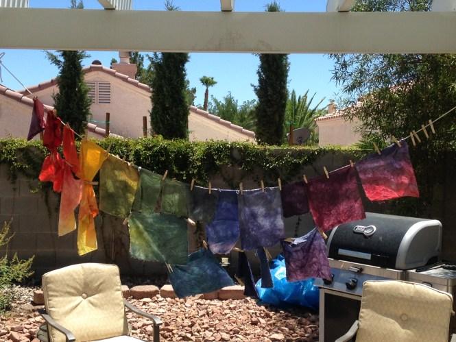 Hand Dyed Fabrics