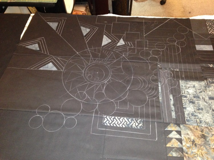 Marking the Quilting