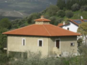 Aussenansicht auf Casaletto dell `Olmo